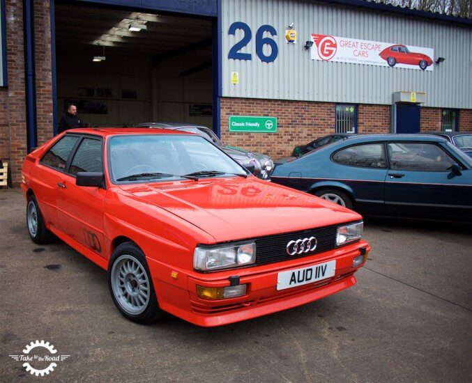 Take to the Road Video Feature Audi UR Quattro