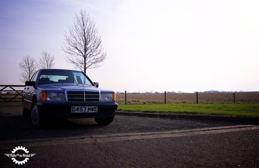 Take to the Road Video Feature Mercedes 190
