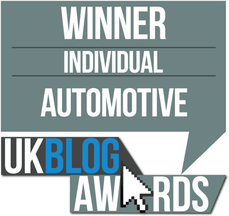 Take to the Road Winner of the 2016 UK Blog Awards