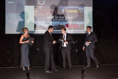 Take to the Road wins 2016 UK Blog Awards