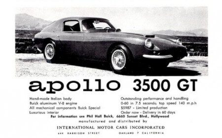 Take to the Road Feature Apollo 5000 GT