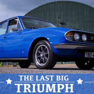 Take to the Road Feature Triumph 2500S