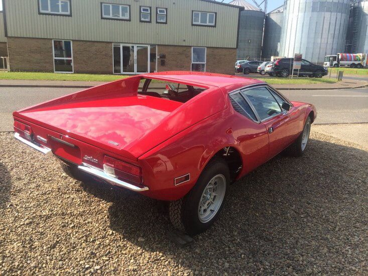 Take to the Road Feature De Tomaso Pantera