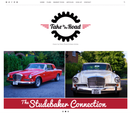 New Take to the Road website