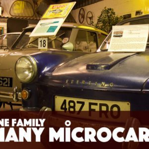 Take to the Road Video Feature One Family Many Microcars