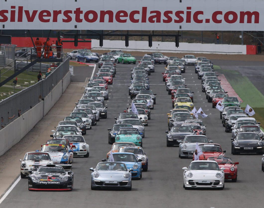 100 car clubs confirmed for 2017 Silverstone Classic - Take to the Road