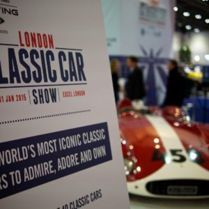 London Classic Car Show opens at the ExCel tomorrow