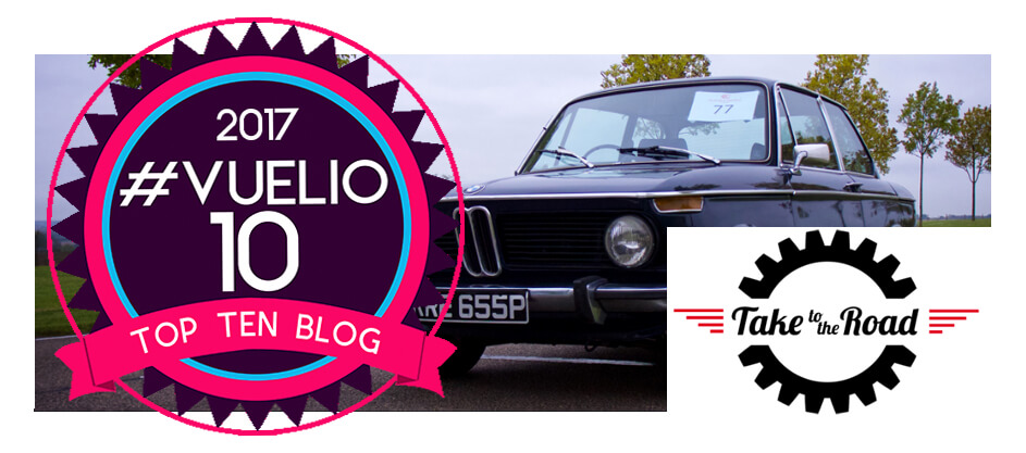 Take to the Road named in Top 10 UK Automotive Blog List