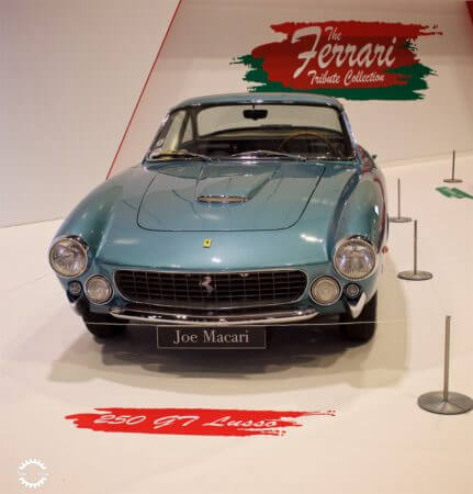 Take to the Road News Ferrari Tribute Collection Wows Record Crowds at London Classic Car Show