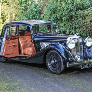 Take to the Road News Family reunited with Grandfathers Jaguar Mark IV after 67 Years