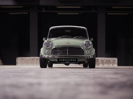 Take to the Road News David Brown Automotive launch the Mini Remastered