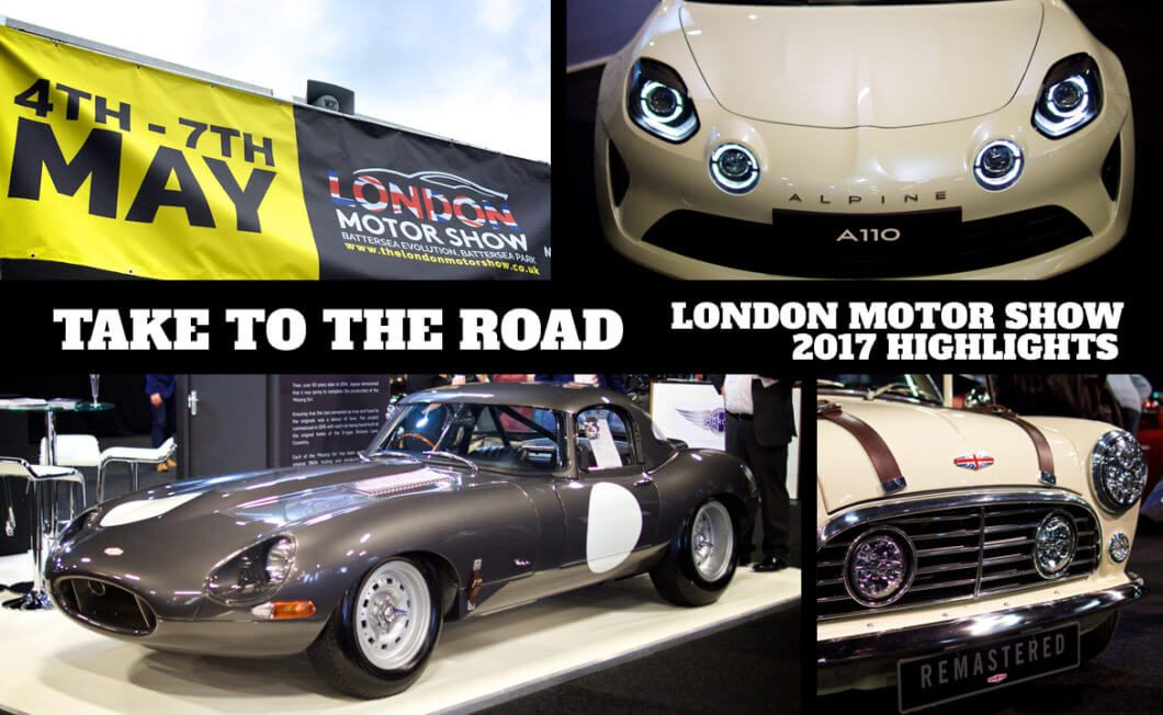 Take to the Road Highlights from the London Motor Show 2017