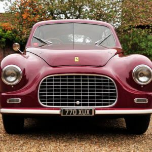 Take to the Road 1949 Ferrari 166 Inter to star at Salon Prive's Tribute to 70 Years of Ferrari