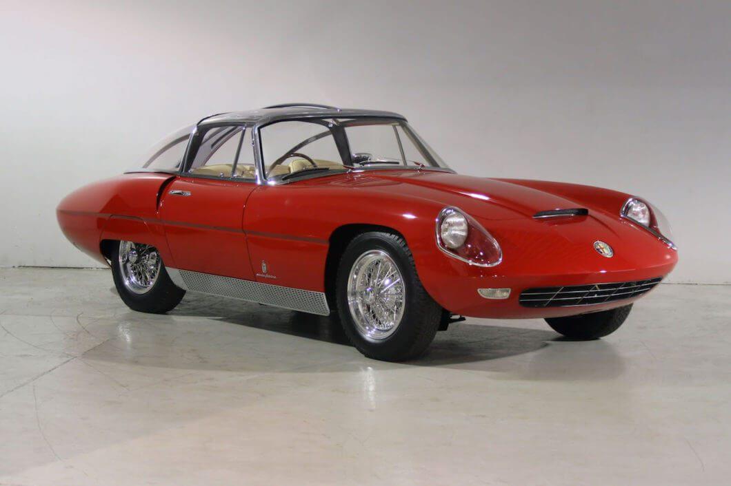 Take to the Road Alfa Romeo 6C 3000 CM Pininfarina Superflow IV to debut at Salon Privé