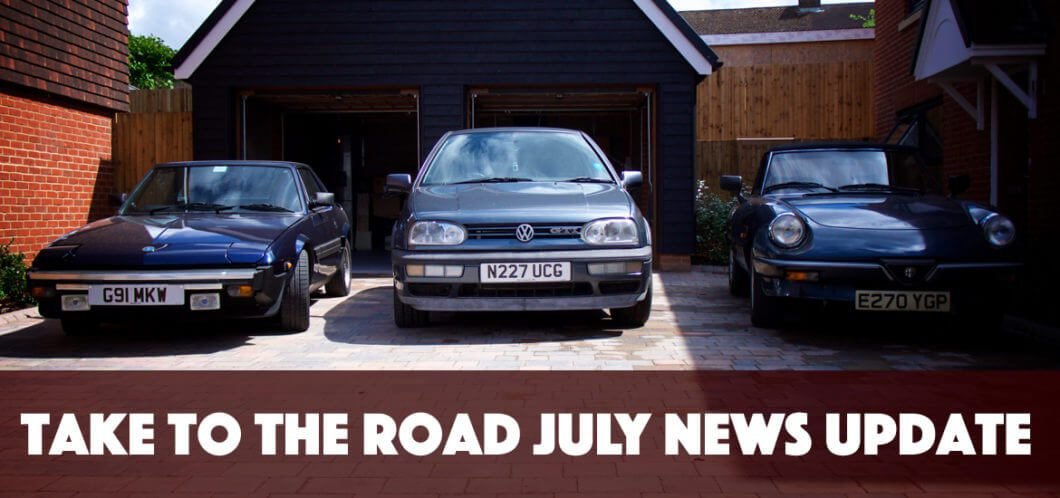Take to the Road July News Update