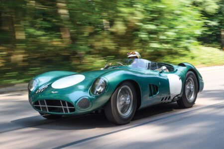 Take to the Road News 1956 Aston Martin DBR1 sells for record $22.6 million