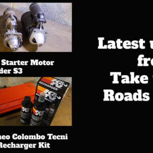 Latest Updates from Take to the Roads Garage