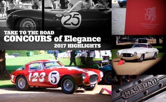 Take to the Road Highlights from the 2017 Concours of Elegance