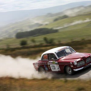 Take to the Road Volvo Amazon Warrior's Welsh Forest Rallying Call