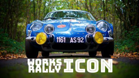 Take to the Road Works Rally Icon – 1969 Alpine A110 Works Rally Car