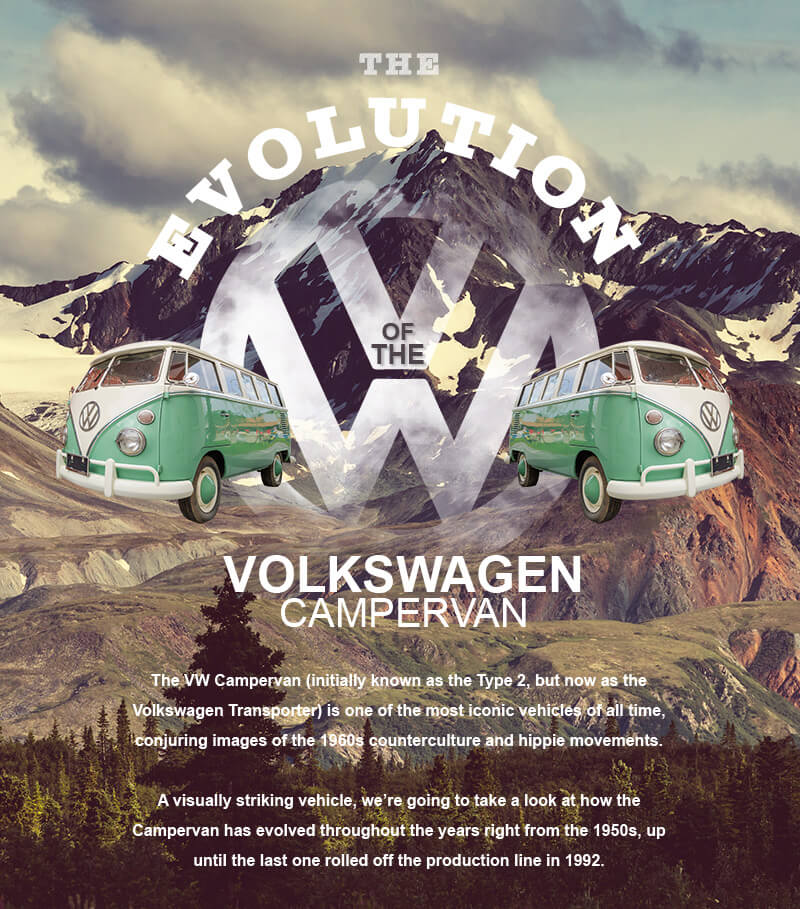 Take to the Road The Evolution of the VW Campervan