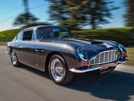 Take to the Road A closer look at the Aston Martin DB6