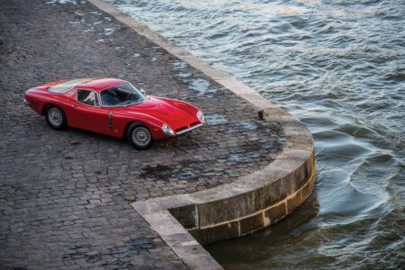 Take to the Road Rare 1965 Iso Grifo A3C set to star at RM Sotheby's Paris Sale
