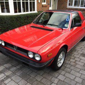 Take to the Road Market Pick 1981 Lancia Beta Spyder Zagato