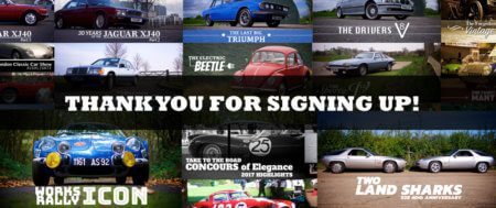 Thanks for signing up to Take to the Road