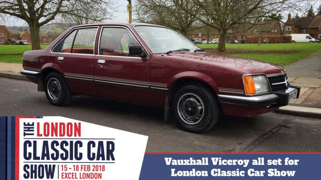 Take to the Road Vauxhall Viceroy all set for the London Classic Car Show