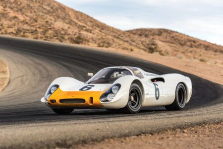 Take to the Road News 1968 Porsche 908 Works Short Tail to headline Monterey sale