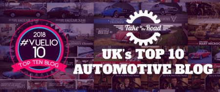 Take to the Road makes Vuelio Top 10 Automotive Blogs once again