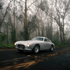 Take to the Road News Mille Miglia raced 1956 Maserati A6G set for RM Sotheby's Monterey sale