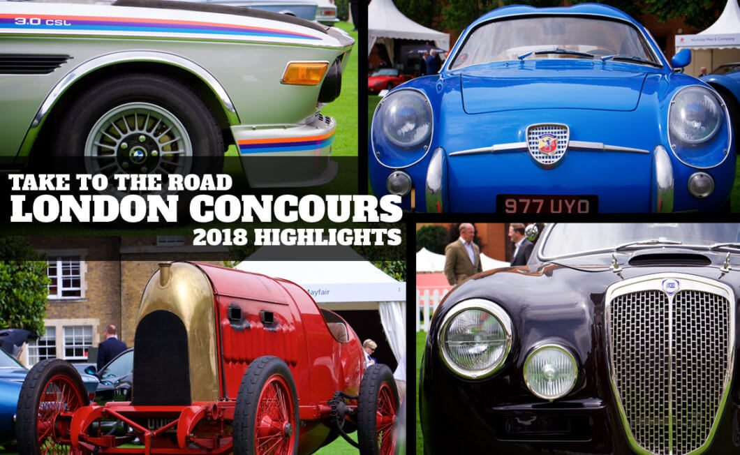 Take to the Road's London Concours Highlights 2018