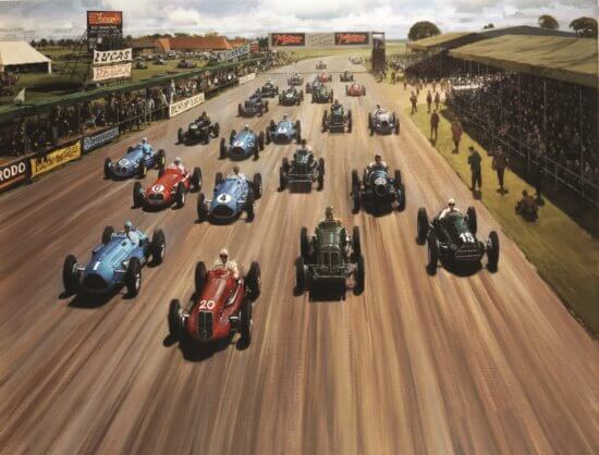 Take to the Road News Silverstone Classic celebrates 70th anniversary of the first Grand Prix