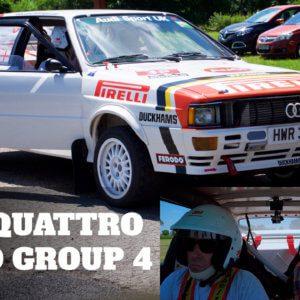 Take to the Road Audi Quattro Turbo Group 4 Spec – 3 laps around Curborough Sprint Course