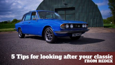 Take to the Road 5 tips for looking after your classic car from Redex