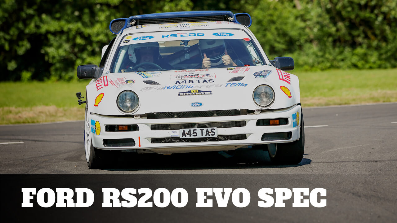 Take to the Road Feature Passenger Ride in a Ford RS200