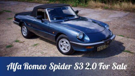 Take to the Road Market Pick – Time to sell my 1988 Alfa Romeo Spider S3