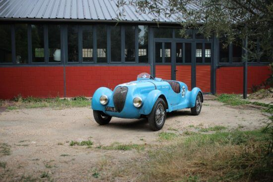 Take to the Road News One of a kind Simca 8 Gordini heads French sale