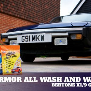 Take to the Road Armor All Waterless Wash and Wax Product Test