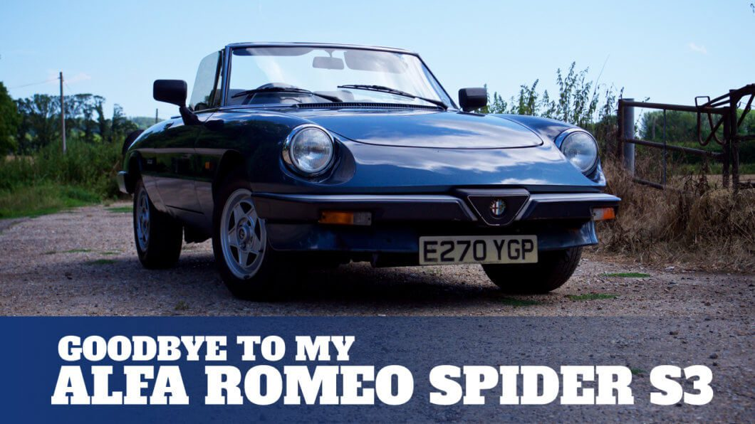 Saying Goodbye to my Alfa Romeo Spider S3