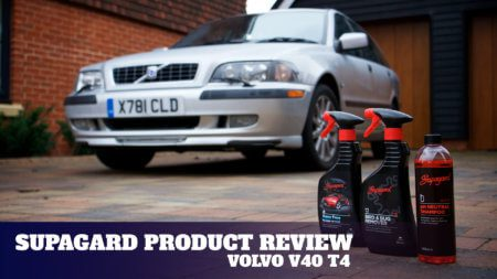 Supagard Product Review with the Volvo V40 T4