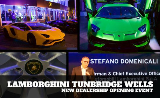 Take to the Road attends Lamborghini Tunbridge Wells opening
