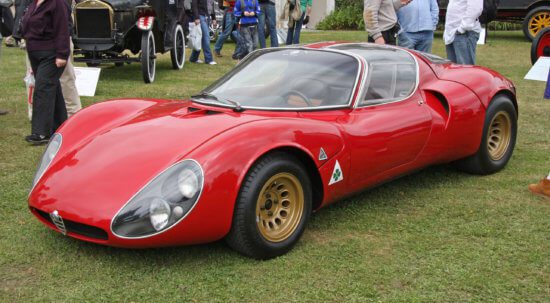 The Alfa Romeo Tipo 33 Stradale - More than just art on wheels