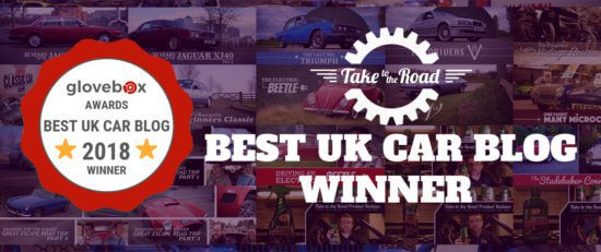 Take to the Road selected as one of the Best UK Car Blogs 2018