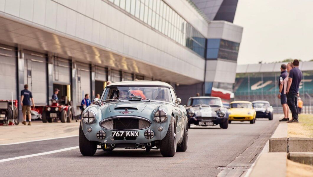Silverstone Classic Pre-Season testing set for April