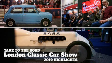 London Classic Car Show Highlights 2019