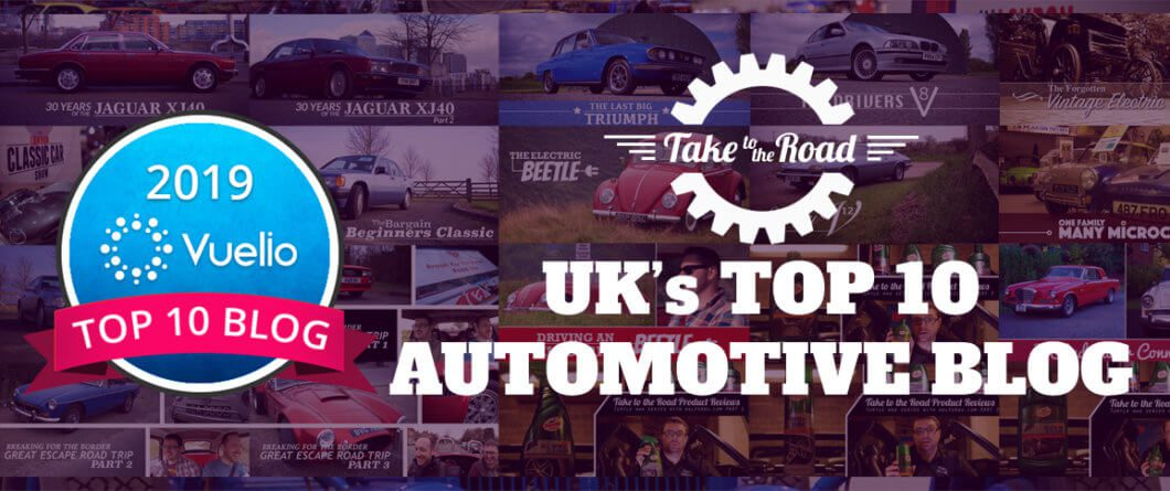 Take to the Road makes Vuelio Top 10 Automotive Blogs for 3rd consecutive year