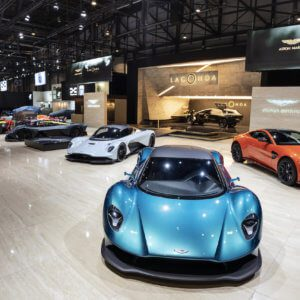 Aston Martin lights up Geneva Motor Show